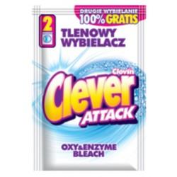 Clovin Clever Attack Кислородный Отбеливатель в порошке для белых 60г