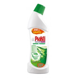 Clovin dr.Prakti Средство для мытья унитаза антибактериальное 2в1 Forest Green 750мл