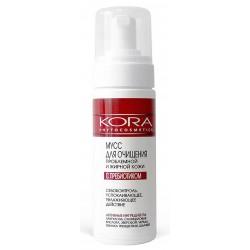 Kora Мусс для очищения проблемной и жирной кожи с пребиотиками 160мл