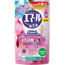 Emerl Концентрированный гель для стирки деликатных тканей Цветущий сад (сменный блок) 400мл
