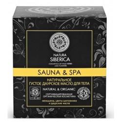 Natura Siberica Sauna&Spa Масло для тела Густое даурское 370мл