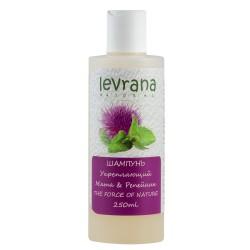 Levrana Шампунь для волос Укрепляющий Мята и репейник 250мл
