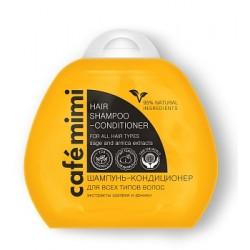 Cafe mimi Шампунь-кондиционер для всех типов волос 100мл