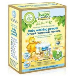 Baby Line Nature Детский стиральный порошок для белого и цветного белья 900г