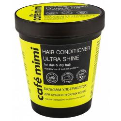 Cafe Mimi Стаканы Бальзам для волос Ультраблеск д/сухих и тусклых волос 220мл
