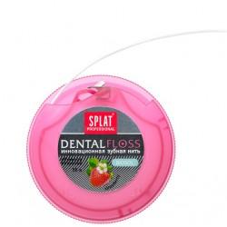 Splat Зубная нить DentalFloss с ароматом клубники 30м