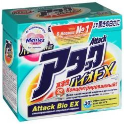 Attack BioEx Стиральный порошок Универсальный д/всех тканей 1кг