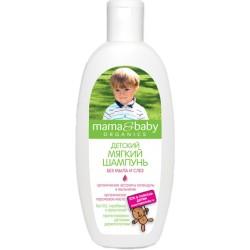 Mama&baby Детский Шампунь мягкий без мыла и слез 300мл