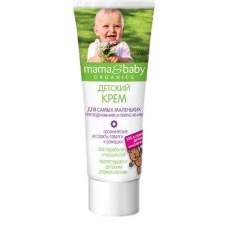 Mama&baby Детский Крем для самых маленьких при раздражениях и покраснениях 75мл