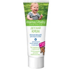 Mama&baby Детский Крем Увлажняющий для ухода за кожей 75мл
