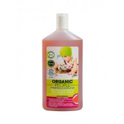 Organic People Эко гель для мытья всех видов полов с маслом сандала 500мл