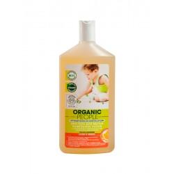 Organic People Эко гель для мытья кафельных полов Апельсин/чайное дерево 500мл
