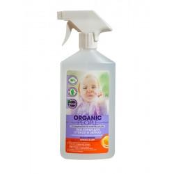 Organic People Эко спрей для стекол и зеркал Лимон/Апельсин 500мл