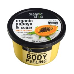Organic Shop Пилинг для тела Сочная папайя 250мл