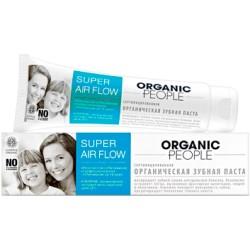 Organic People Органическая зубная паста Super Air Flow 100мл