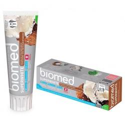 Biomed Зубная паста Superwhite Бережное отбеливание и укрепление чувствительной эмали 100г