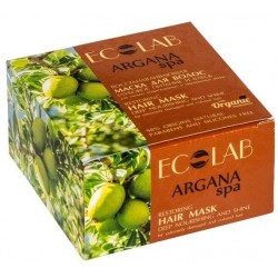 Ecolab Spa Маска для волос Восстанавливающая глубокое питание и блеск Аргания 200мл