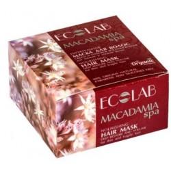 Ecolab Spa Маска для волос Питательная объем и глубокое восстановление Макадамия 200мл