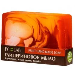 Ecolab Глицериновое мыло Fruit (карамбола/манго/папайя) 130г