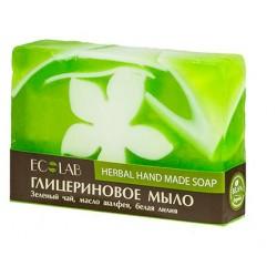 Ecolab Глицериновое мыло Herbal (зеленый чай/белая лилия/шалфей) 130г