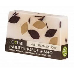 Ecolab Глицериновое мыло Nut (миндаль/макадамия/мускатный орех) 130г
