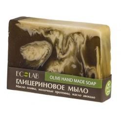 Ecolab Глицериновое мыло Olive (масло оливы/молочные протеины/авокадо) 130г
